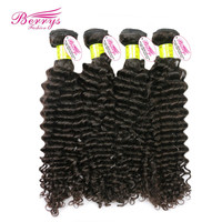 8A Malaysian Virgin hair deep curly 4pcs/lot cheap price extension 1b color hair weave free shipping