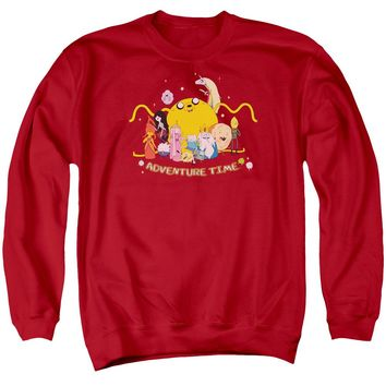 Adventure Time - Outstretched Adult Crewneck Sweatshirt Officially Licensed Apparel