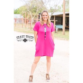 Pretty in Pink Dress with Pockets