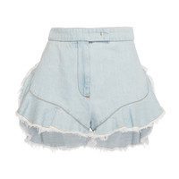 Frayed Denim Shorts | Moda Operandi