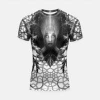 Riddian Queen Of Fire Oracle GS ISO GEOPAT Shortsleeve Rashguard, Live Heroes