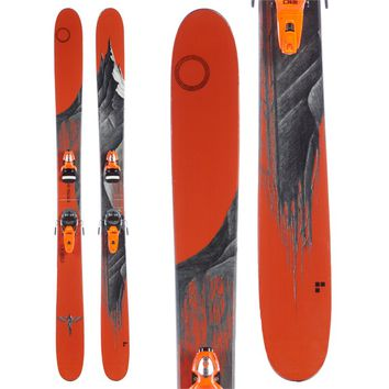 Line Skis Magnum Opus Skis + Rossignol FKS 180 Bindings 2015 - Used
