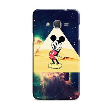 disney Mickey mouse Hipster Triangle Galaxy Samsung Galaxy J7 2015 | J7 2016 | J7 2017 Case