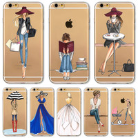 For iPhone 7 6 6S 5 5S SE 7Plus 6sPlus 4S Phone Case Cover