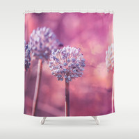 Delicate Morning Shower Curtain by Loredana