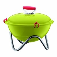 Bodum Fyrkat 13.4-Inch Portable Charcoal Grill, Green:Amazon:Patio, Lawn & Garden