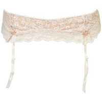 Leafy Lace Suspender - Lingerie & Sleepwear  - Apparel