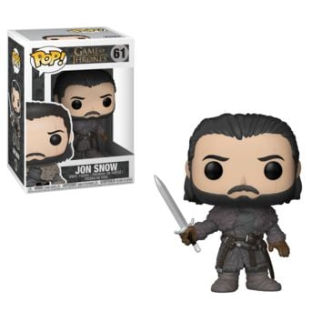 Funko Game of Thrones Pop! Game of Thrones Jon Now S8 Beyond the Wall Vinyl Figure