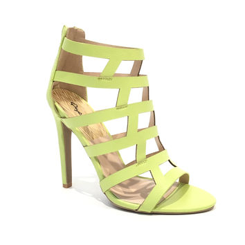 Spark Interest Heels In Lemon Lime