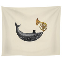 Whale Song Tapestry