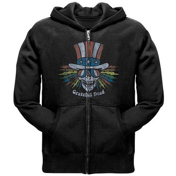 Grateful Dead - Uncle Sam Skull Zip Hoodie