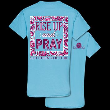 Southern Couture Rise Up & Pray Faith T-Shirt