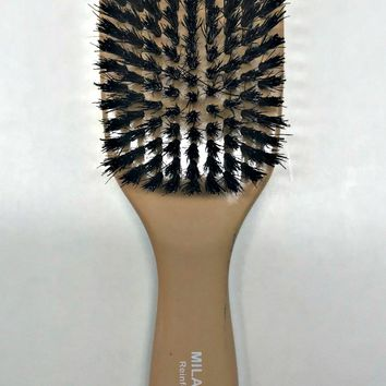 MILANO PRO REINFORCED BOAR BRISTLE BRUSH LONG HANDLE FV