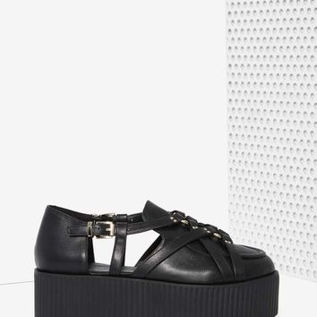 UNIF Bound Vegan Leather Creeper