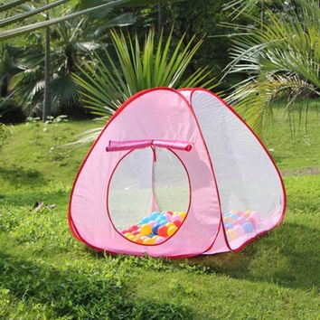 DCCKL3Z New Lovely Baby Play Tent Child Kids Indoor Outdoor House Large Portable Ocean Balls Great Gift Games Playing Tent without Ball