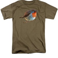 Robin Red Breast - erithacus rubecula T-Shirt