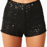 Sequin Hot Shorts