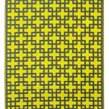 7120 Green Outdoor Area Rugs