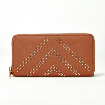 Golden Rush Wallet in Cognac