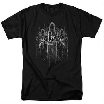 The Lord of the Rings The Nine Nazgûl Adult Black T-Shirt |