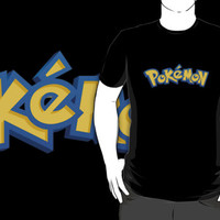 23 pokemon custom logo black t-shirt tshirt