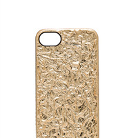 Marc by Marc Jacobs Foil iPhone 5 Case in Metallic Gold