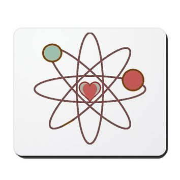 PHYSICS OF LOVE MOUSEPAD