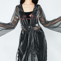 Rad Intentions Sheer Robe
