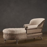 Deconstructed French Victorian Chaise | | Restoration Hardware