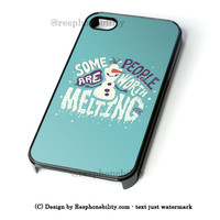 Olaf Cute Quotes iPhone 4 4S 5 5S 5C 6 6 Plus Case , iPod 4 5 Case , Samsung Galaxy S3 S4 S5 Note 3 Note 4 Case , and HTC One X M7 M8 Case
