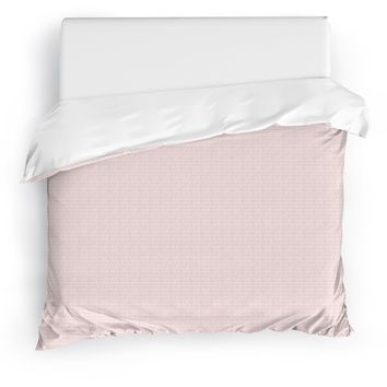 EDAHA PINK Duvet Cover By Tiffany Wong