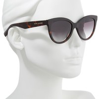 MARC JACOBS 53mm Cat Eye Sunglasses | Nordstrom