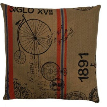 Grain Sack Throw Pillow
