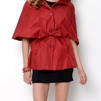 Betsey Johnson Cape Trench Coat - Betsey Johnson Spring Outerwear - Modnique.com