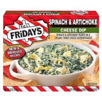 T.G.I. Friday's Spinach & Artichoke Cheese Dip 8-oz.