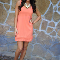 Let's Watch The Sunset Dress: Coral | Hope's