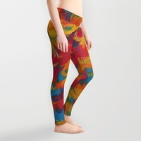 Psychedelic Leggings by DuckyB (Brandi)