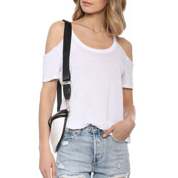 Z Supply The Cold Shoulder Tee