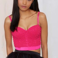 Like Candy Beaded Bustier