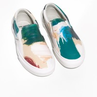 & Other Stories | Vans Printed Leather Slip-On | Brushstroke
