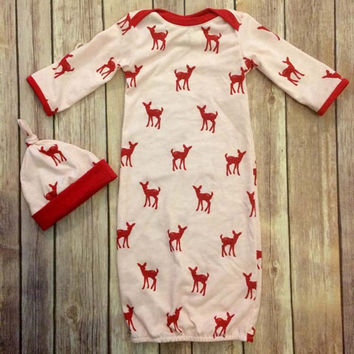 Christmas Gift 3 Pcs baby pajamas sets