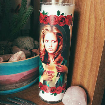 Saint Buffy Summers  // Buffy the Vampire Slayer Prayer Candle