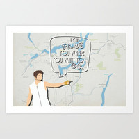 Justin Bieber- Take You Art Print by Natasha Ramon