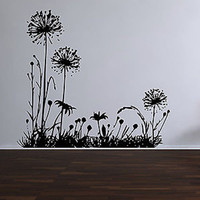 Wild Dandelion Vinyl Wall Decal Sticker