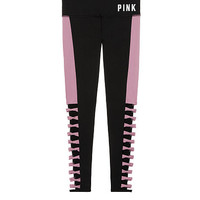 Ultimate High Waist Strappy Legging - PINK - Victoria's Secret