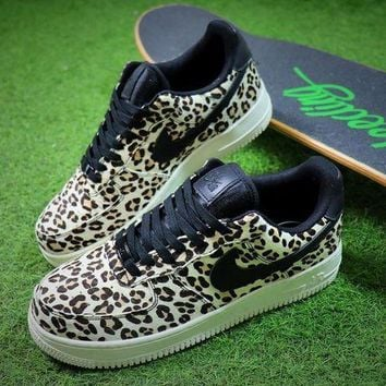 ONETOW Nike Wmns Air Force 1 '07 LX Animal Prints Pack Snow Leopard Sneaker AF1 898889-004 Shoes