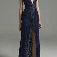 Front Split V-Neck Dress | Moda Operandi