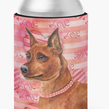 Miniature Pinscher Love Can or Bottle Hugger BB9743CC