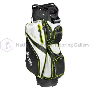 Tour Edge HL3 Golf Cart Bag Black/Silver/Lime