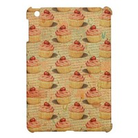 RETRO CUPCAKE iPAD MINI CASE from Zazzle.com